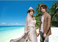 举个栗子:清新海边婚纱照ps教程