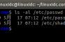 Linux 系统中 /etc/passwd 和 /etc/shadow文件详解