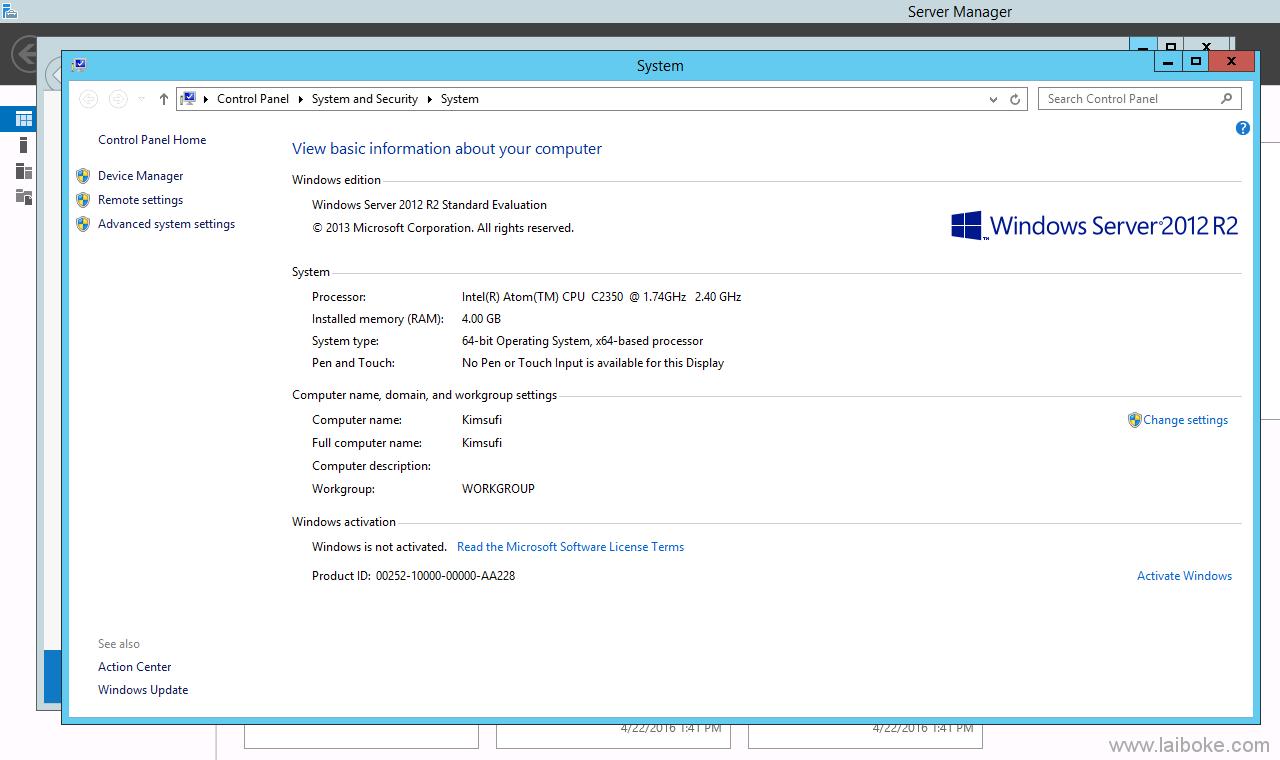 Online.net SC 2016 SATA 版本成功安装 Windows 并运行