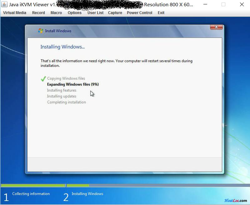 Online服务器IPMI方式免DD安装Windows教程 已更新各安装包镜像
