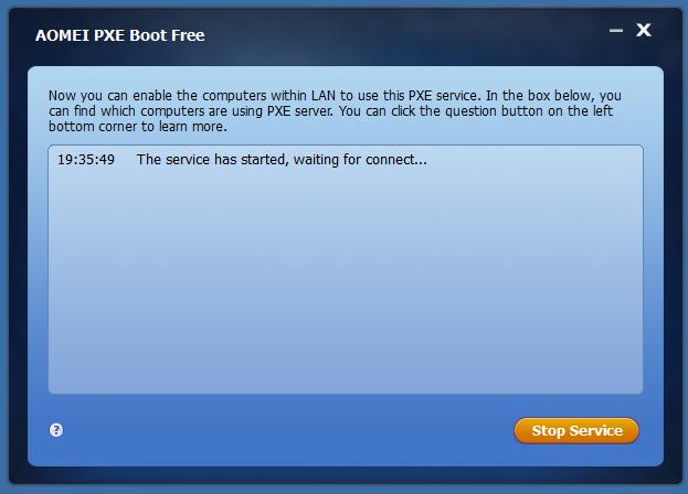 超级简单的PXE网络启动工具:AOMEI PXE Boot(国产英文版)