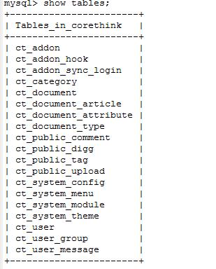 MYSQL批量修改表前缀与表名sql语句