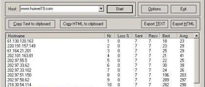 WinMTR 0.9.2 绿色免费版