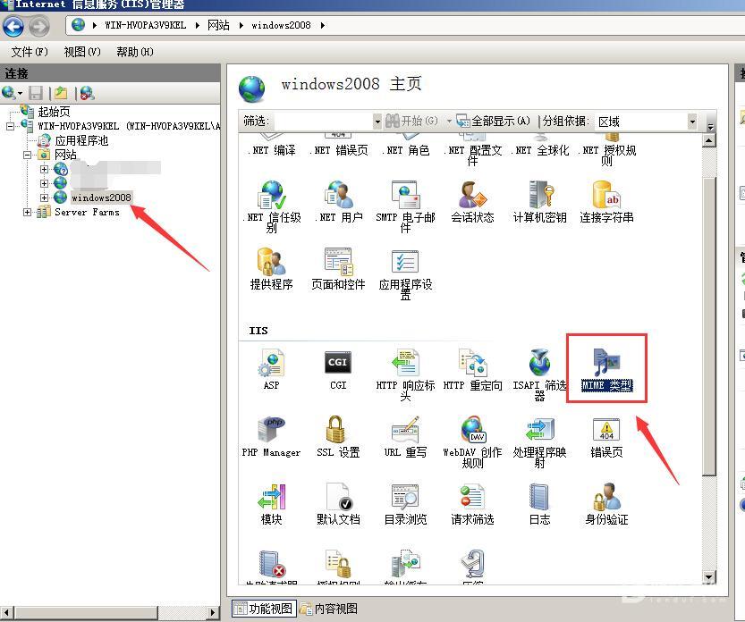 windows server 2016   IIS10 设置强制所有文件直接下载