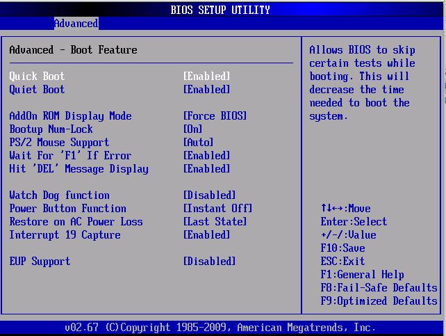 Oneilonline  12T硬盘服务器安装系统折腾(BIOS)