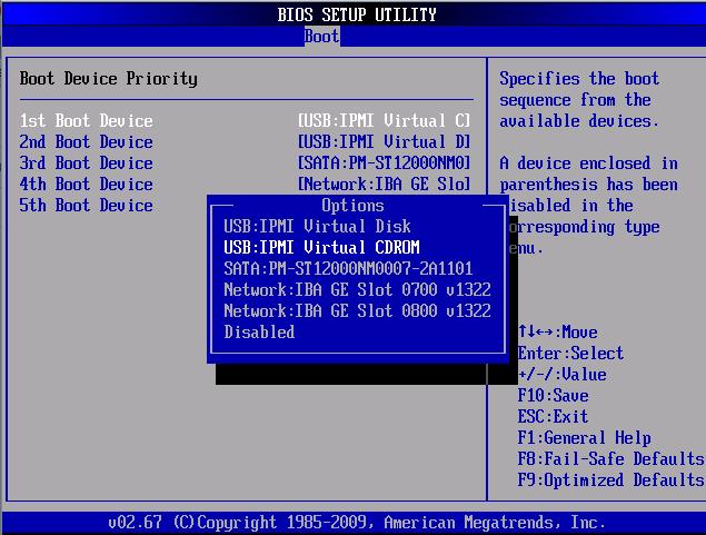 Oneilonline  12T 硬盘服务器安装系统折腾(BIOS)