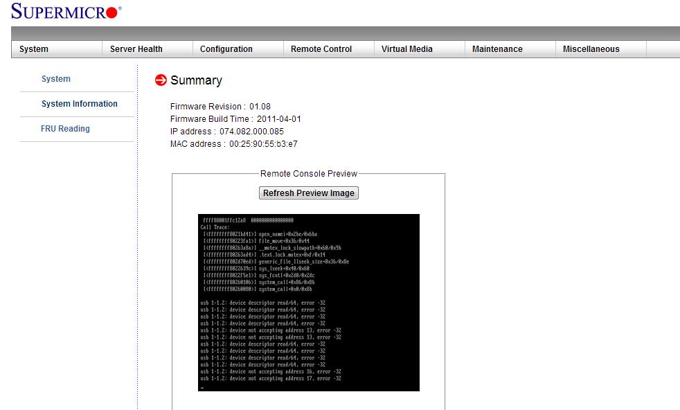 SuperMicro的IPMI界面安装系统过程