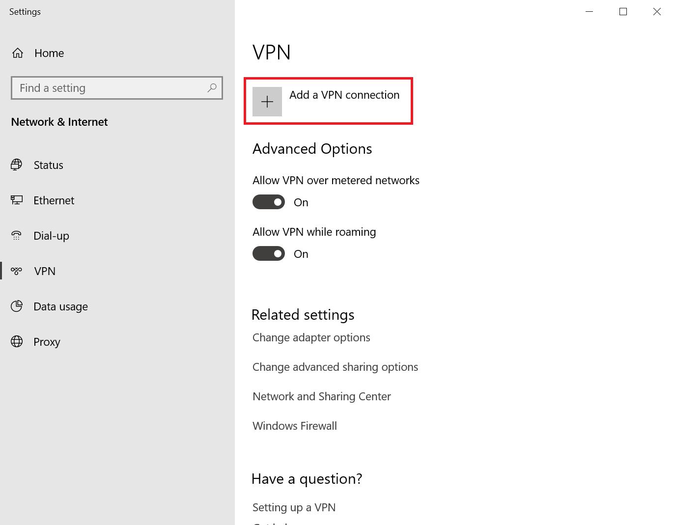 ioflood VPN:Windows 10/2016/2019 VPN 设置访问 IPMI
