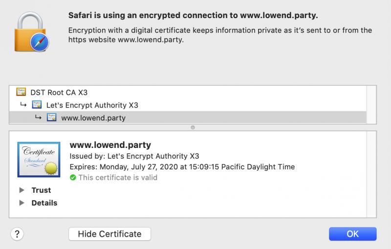 在Debian 10上使用NGINX和LetsEncrypt提供免费SSL(译)