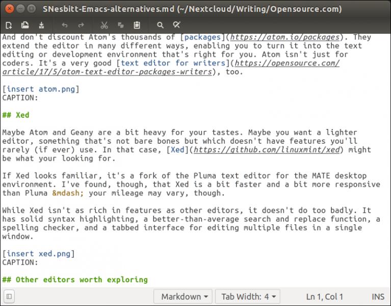 3 个可以替代 Emacs 和 Vim 的文本编辑器