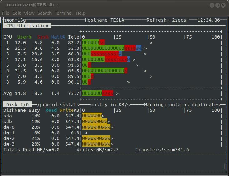 Python 版的 Nmon 分析器:让你远离 excel 宏