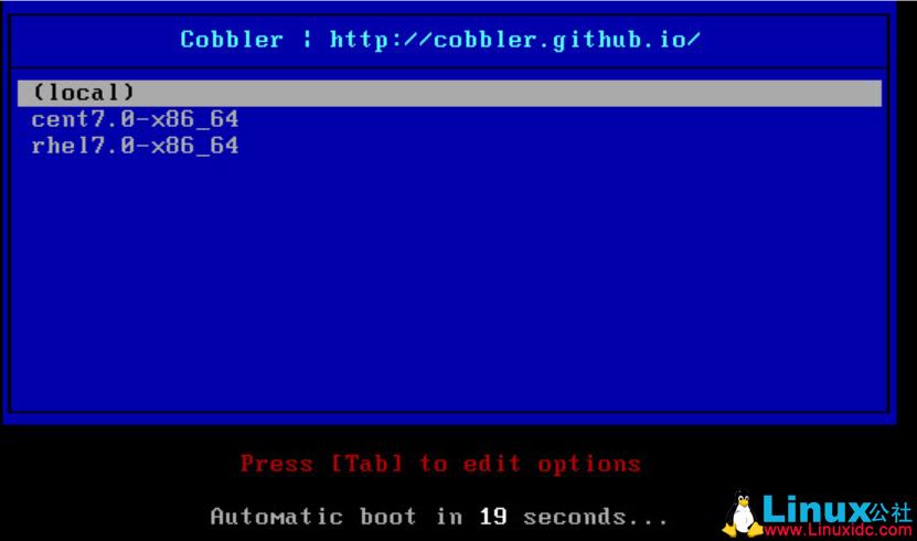 CentOS 7.4下Cobbler安装详解