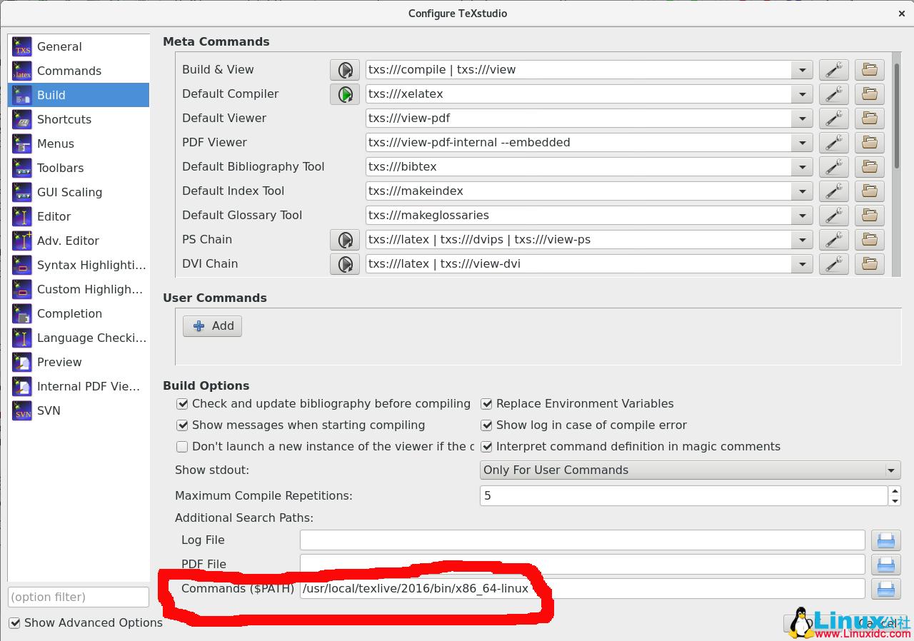 Latex加速: TeXstudio的安装和使用