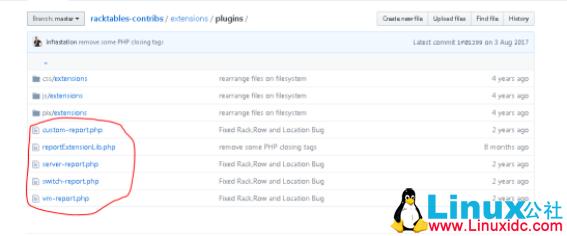 资产管理软件RackTables安装报表插件