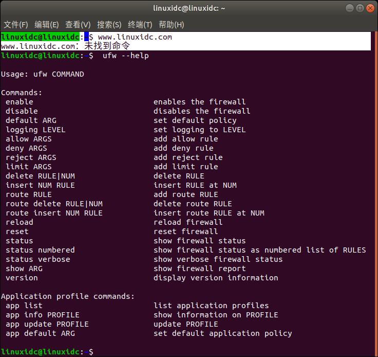 如何在Ubuntu 18.04上使用UFW设置防火墙