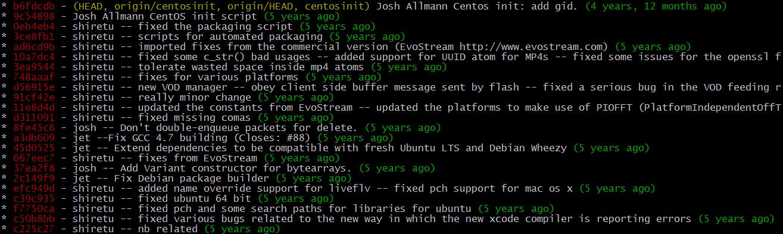 将Git版本号编译进程序