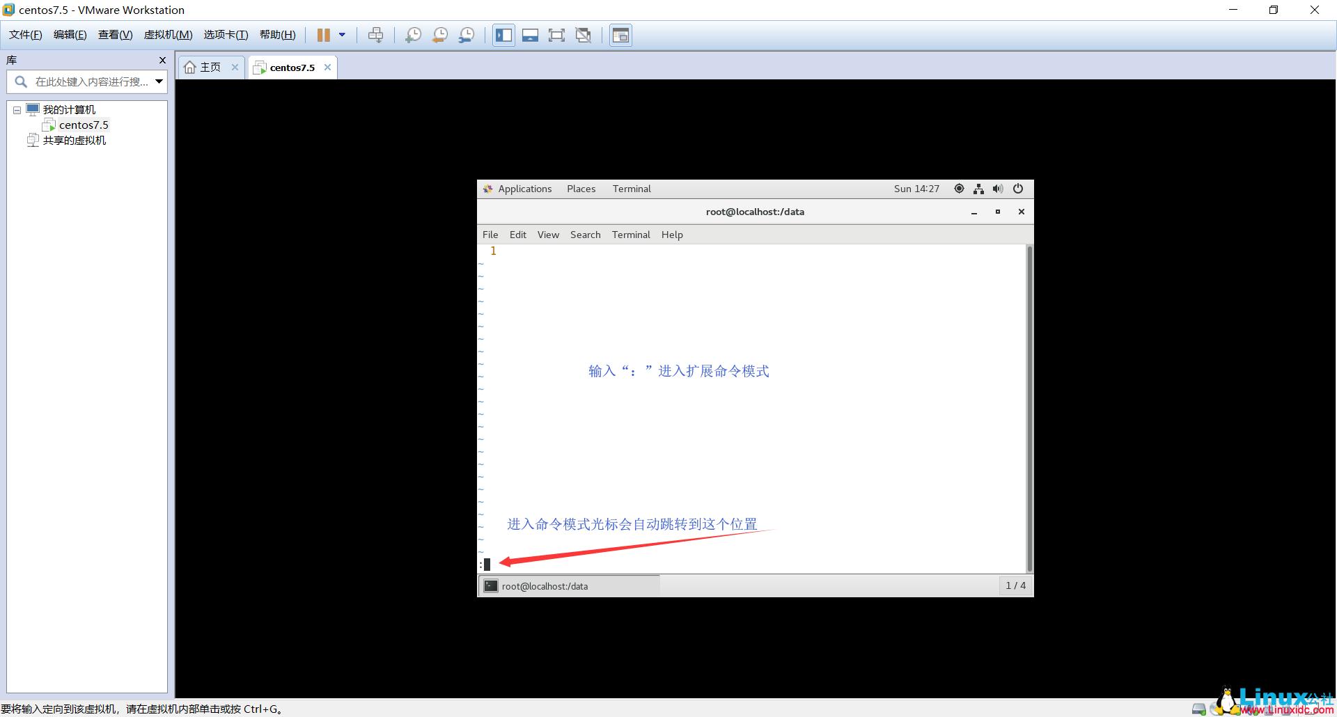 Vim的简单用法和简单命令