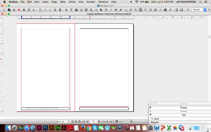 如何用 Scribus 和 Gedit 编辑 Adobe InDesign 文件