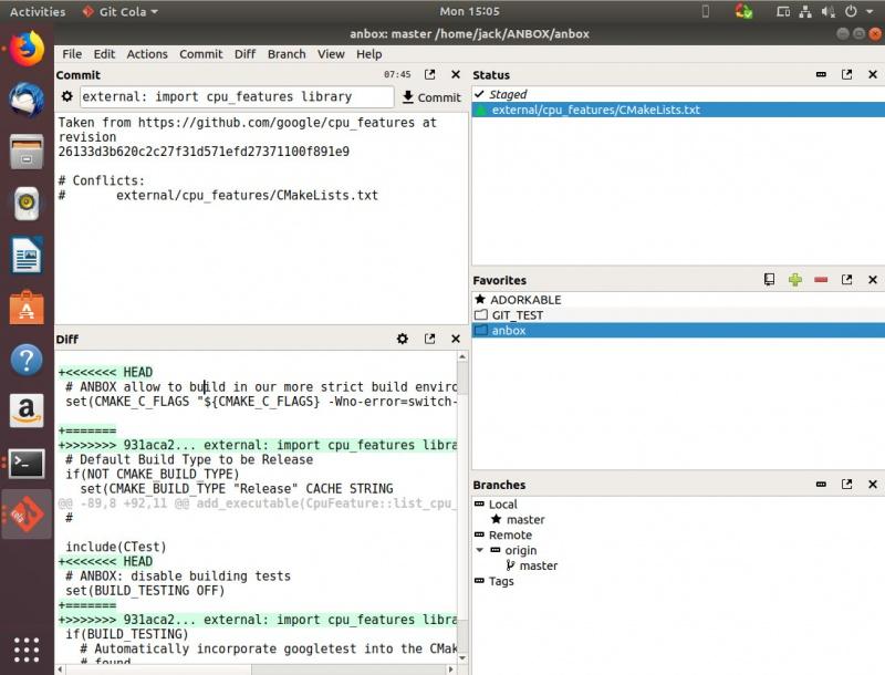 三款 Linux 下的 Git 图形客户端