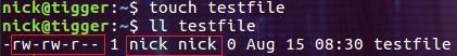 Linux ugo 权限基本概念和操作