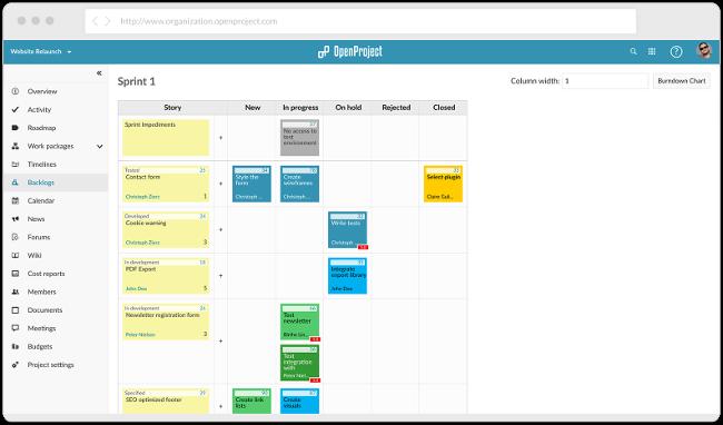 面向敏捷开发团队的 7 个开源项目管理工具