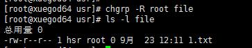 Linux文件权限命令:权限设置chmod,改变文件属主属组关系chown,chgrp