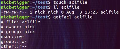 Linux ACL 权限入门基础教程