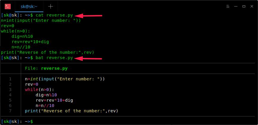 Bat:一种具有语法高亮和 Git 集成的 Cat 类命令