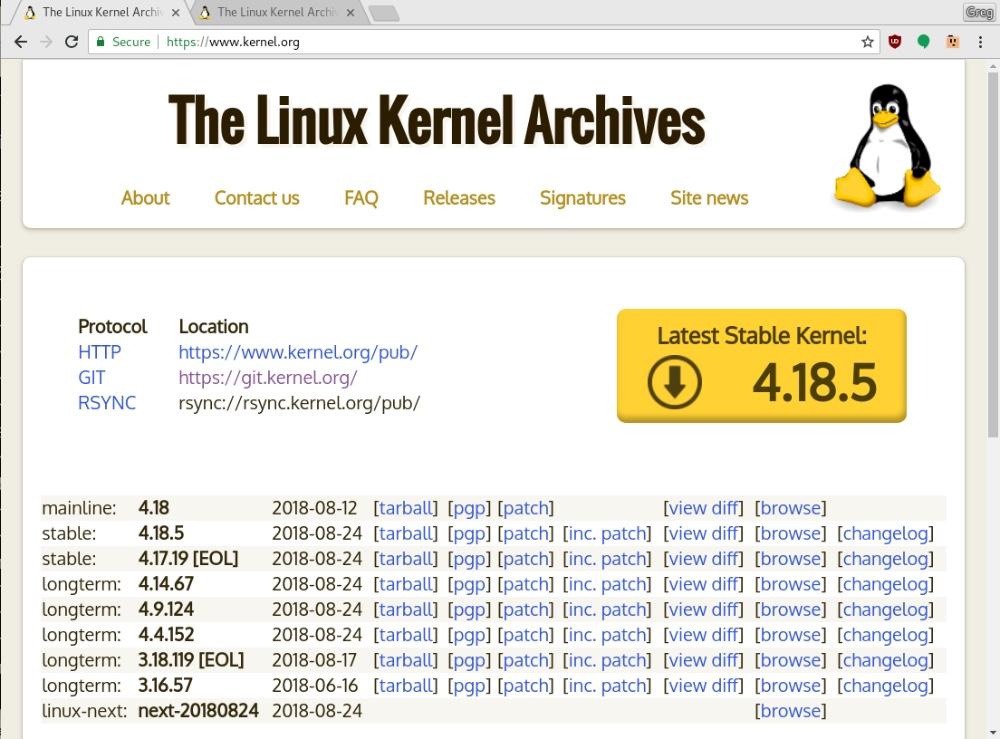 我应该使用哪些Linux 稳定版内核?
