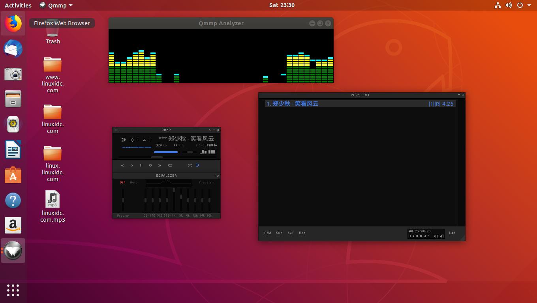 如何在Ubuntu 18.04上下载和安装音乐播放器Qmmp