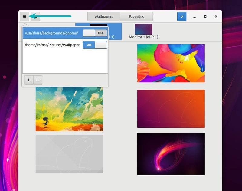 如何在 Linux 中为每个屏幕设置不同的壁纸