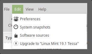 如何升级到Linux Mint 19.1