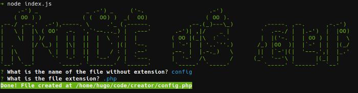 使用 Node.js 构建交互式命令行工具