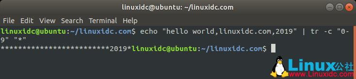 Linux下的tr文本处理命令详解