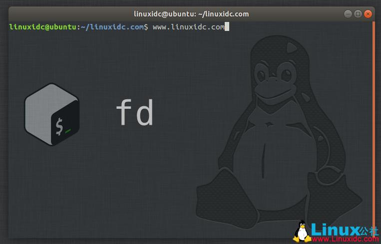fd  – find命令的简单快速替代方案