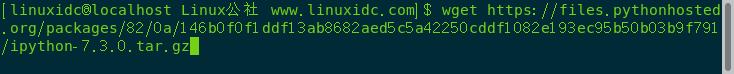 CentOS 7.5下Python 3安装IPython
