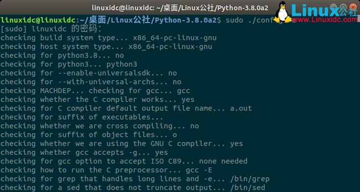 Ubuntu 18.04安装Python 3.8.0 alpha 2 教程