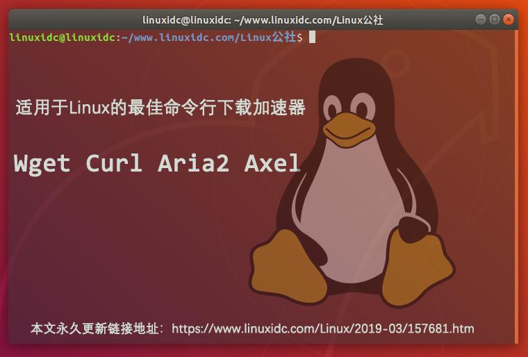 适用于Linux的最佳命令行下载加速器