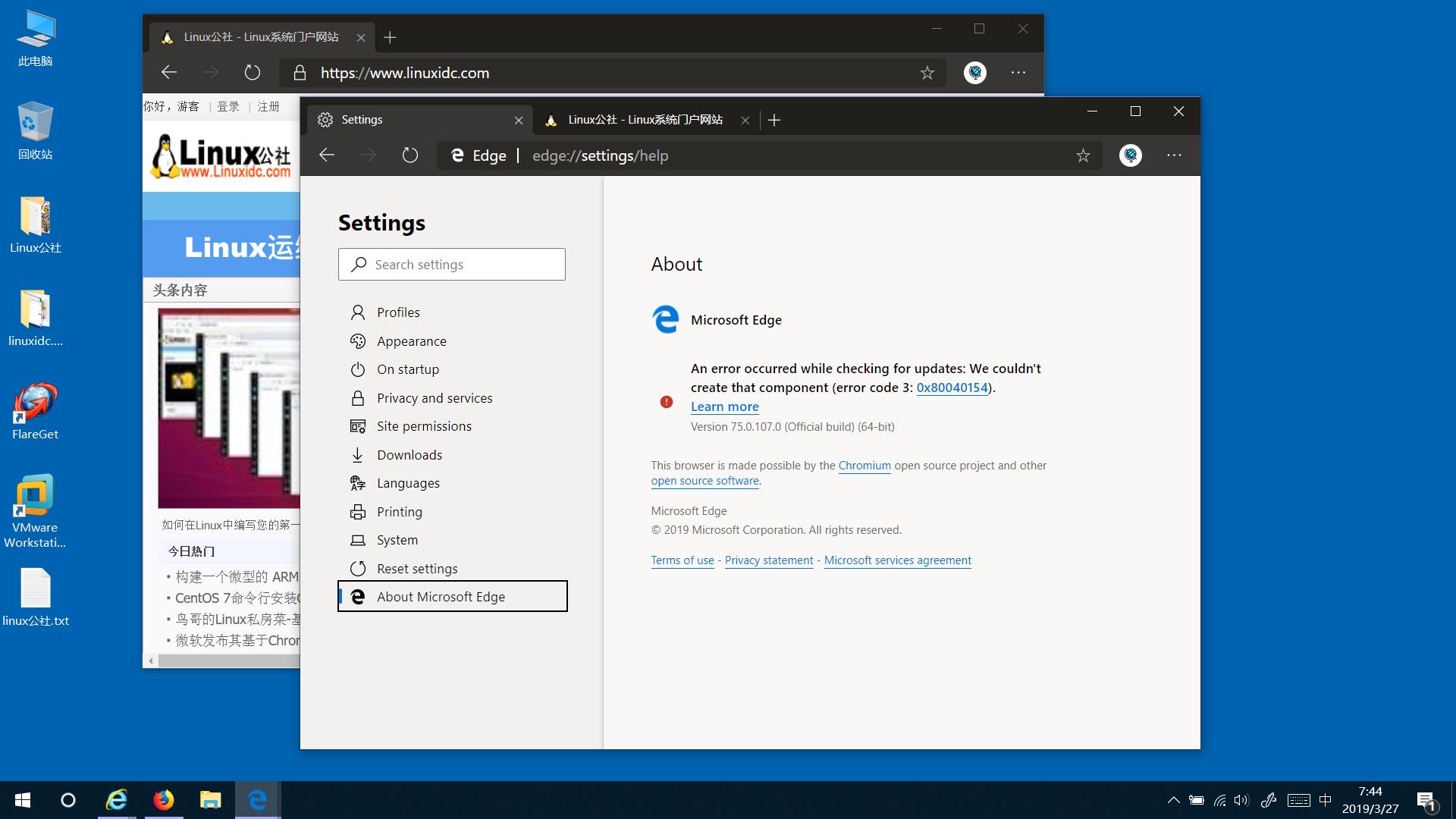 如何在基于Chromium的Microsoft Edge浏览器中启用黑暗主题