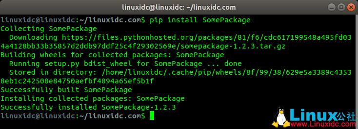 Python包管理工具pip的常见使用方法