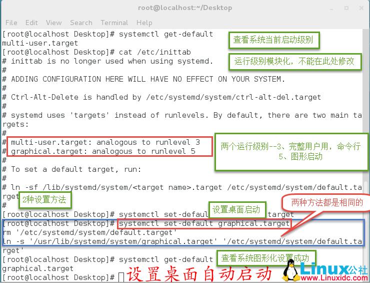 RHEL/CentOS7 安装图形化桌面详细图解