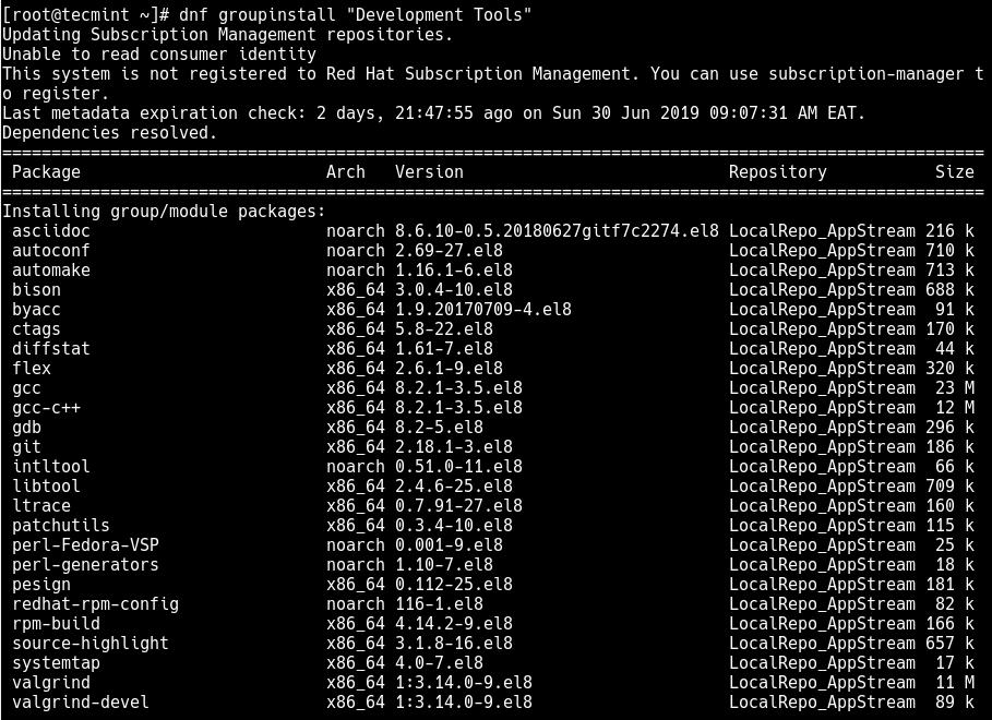 如何在RHEL 8中安装Node.js