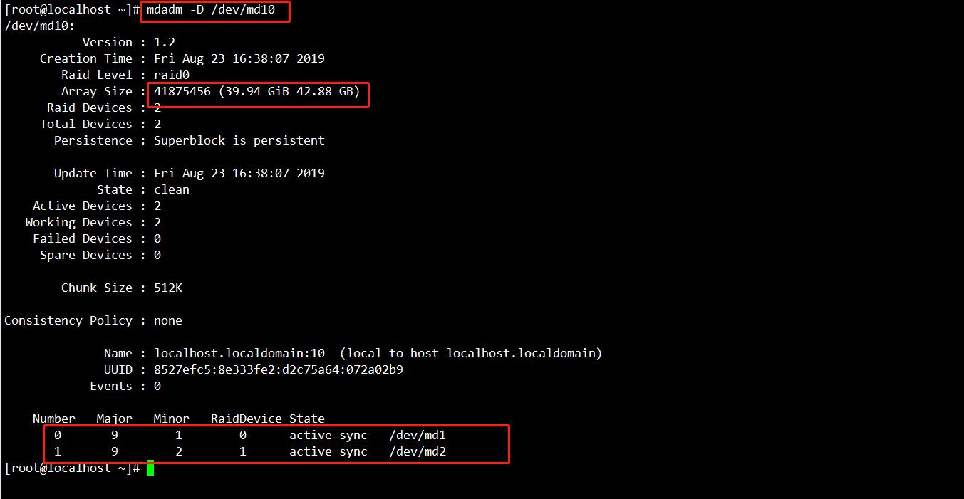 CentOS 7 RAID磁盘阵列之RAID 10创建实战