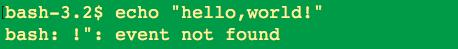 Linux脚本入门之终端显示输出