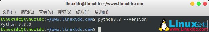 如何在Ubuntu 18.04上安装Python 3.8