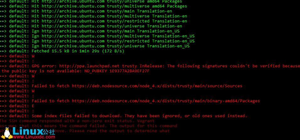 如何在Ubuntu中修复GPG error NO_PUBKEY