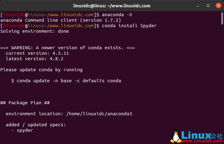 Ubuntu 18.04中安装Spyder,Python可视化IDE