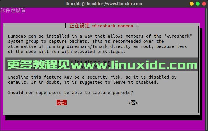 在Ubuntu 18.04 Linux上安装和使用Wireshark