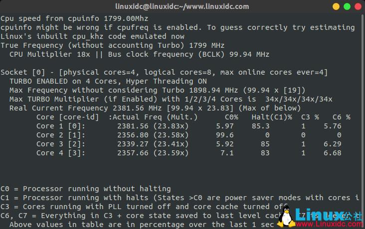 如何在Ubuntu Linux中监控CPU和GPU温度